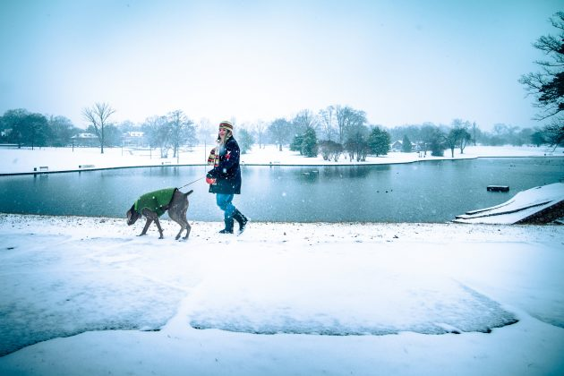 спорт при простуде: ходьба