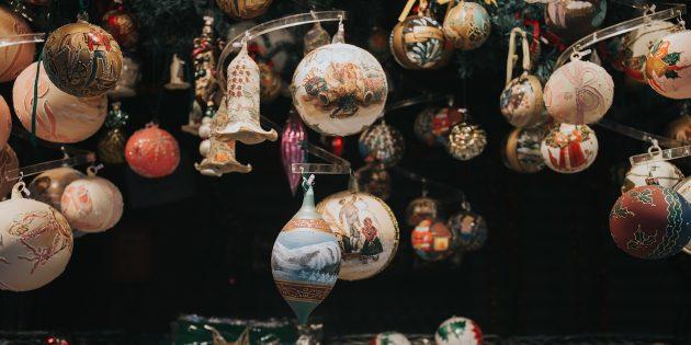 Новогодние наборы украшений
