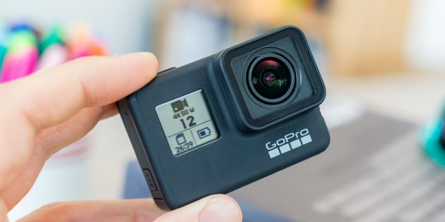 Гаджеты в подарок к Новому году: GoPro Hero7Black
