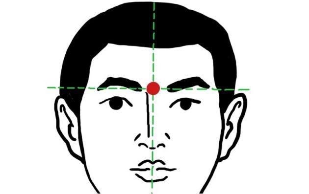 Как избавиться от головной боли за 5 минут: точка инь-тан