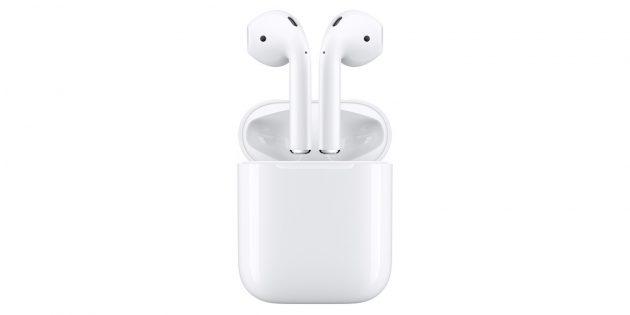 Гаджеты в подарок к Новому году: Apple AirPods