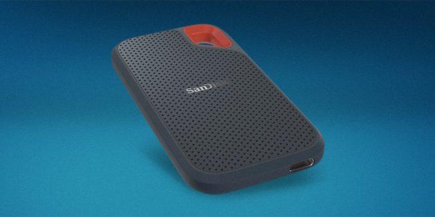 Гаджеты в подарок к Новому году: SanDisk Extreme Portable SSD