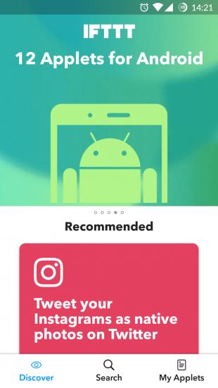 IFTTT для Android