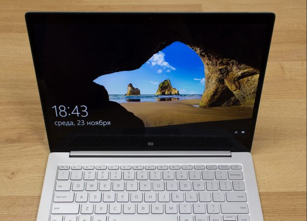 Xiaomi Mi Notebook Air 13,3″: дисплей