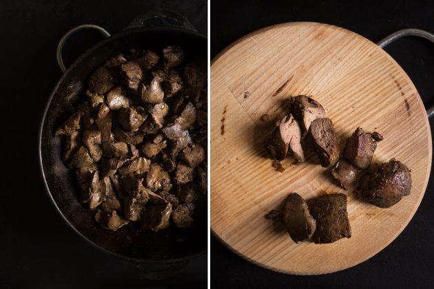 Паштет из куриной печени со сливками: обжарьте печень