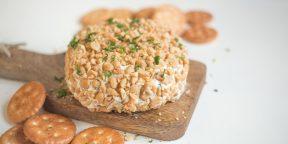 РЕЦЕПТЫ: Закуска из 3 видов сыра и арахиса