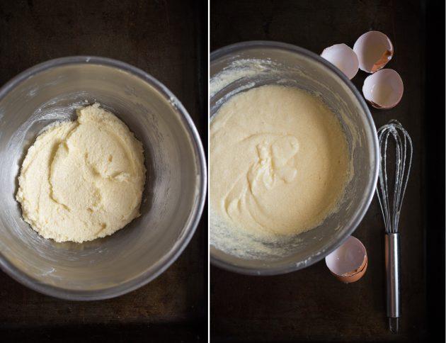 мандариновые кексы: крем