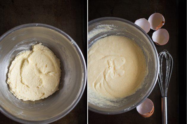 Мандариновые кексы: замесите тесто