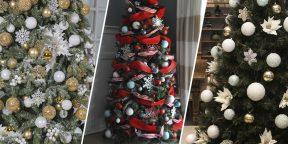 Как украсить новогоднюю ёлку: потрясающие идеи на любой вкус