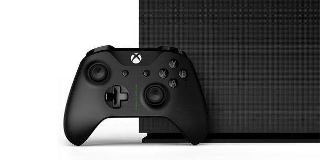 Гаджеты в подарок к Новому году: Microsoft Xbox One X