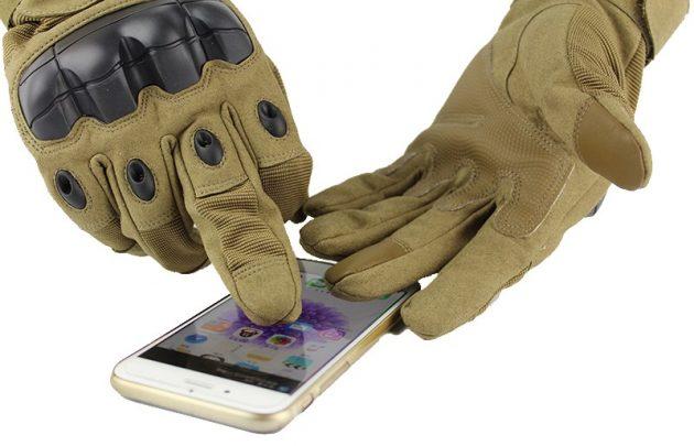 Зимние сенсорные перчатки: Military Touch Screen Gloves