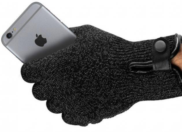Зимние сенсорные перчатки: Mujjo Double Layer Touchscreen Gloves