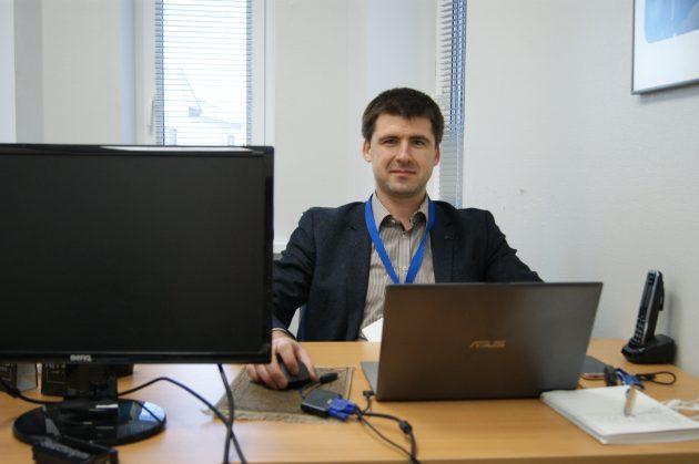 Сергей Ожегов: рабочее место