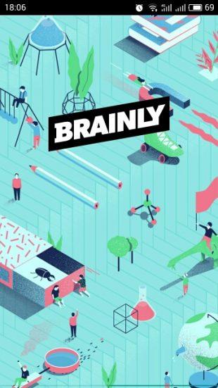 brainly: главный экран