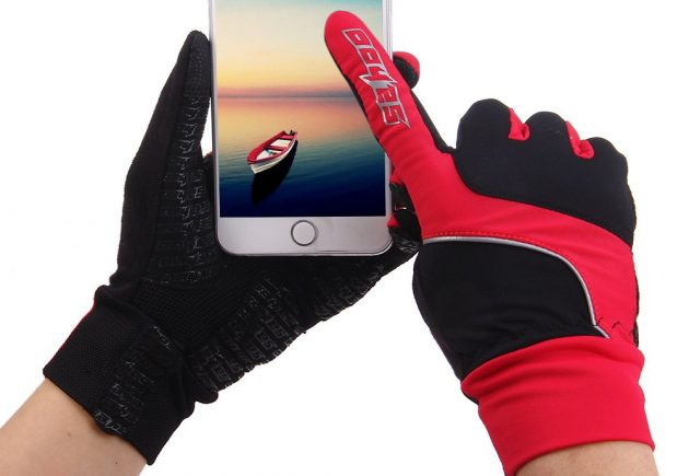 Зимние сенсорные перчатки: SAHOO Touch Screen Full Finger Gloves