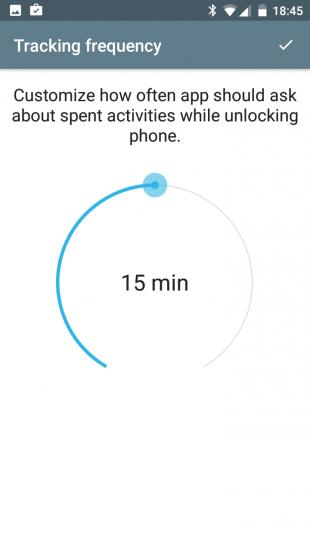 SaveMyTime: потраченное время