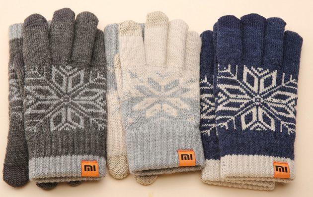 Зимние сенсорные перчатки: Xiaomi Wool Touch Gloves
