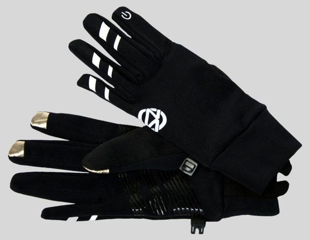 Зимние перчатки для сенсорных экранов: Zensah Smart Running Gloves