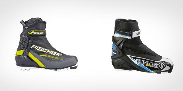 Ботинки для универсальных лыж
