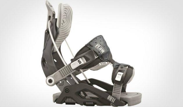 Как выбрать сноуборд: Крепление с откидным хайбэком