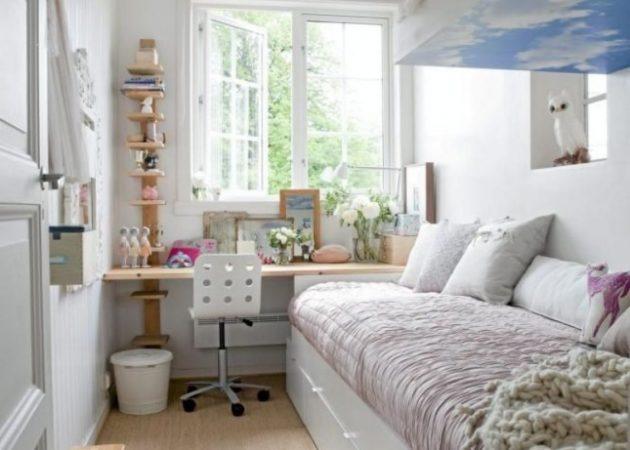 Как обустроить узкую комнату