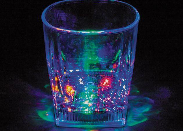Декоративный стакан с подсветкой