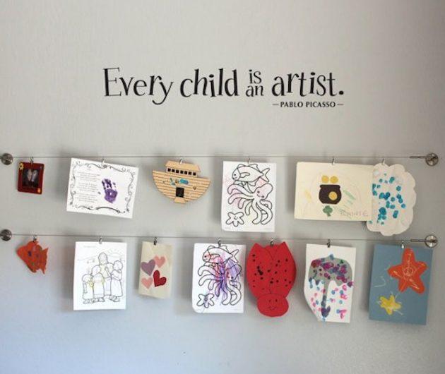 Дизайн детской: галерея работ ребёнка
