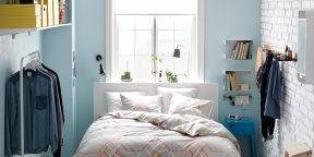 Раздвигаем стены: дизайнерские идеи для маленьких спален