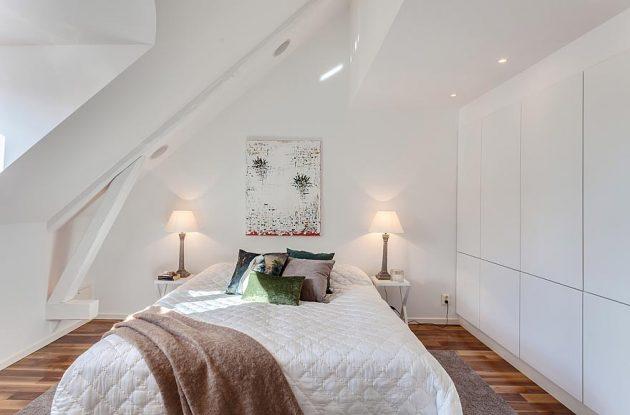 Узкая комната: укладка ламината