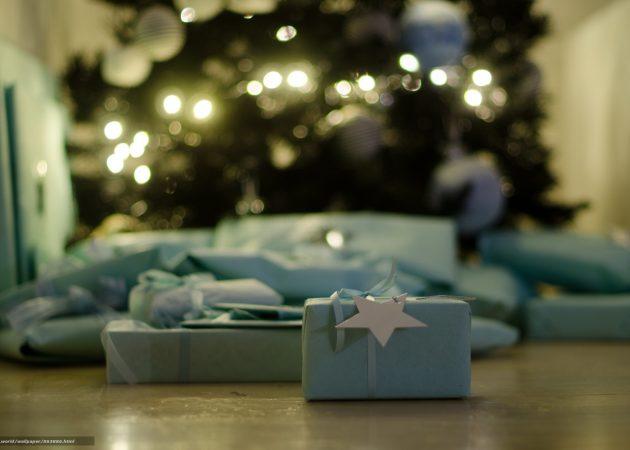 Украшаем ёлку: подарки