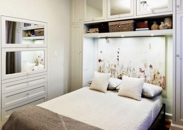 Узкая комната: создавайте ниши