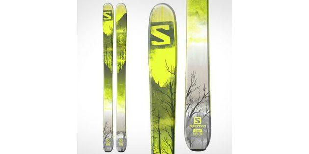 Как выбрать горные лыжи: Лыжи для фрирайда Salomon