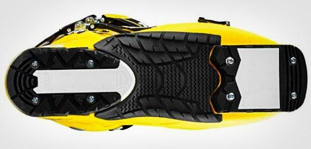 Горнолыжные ботинки: Подошва стандарта WTR