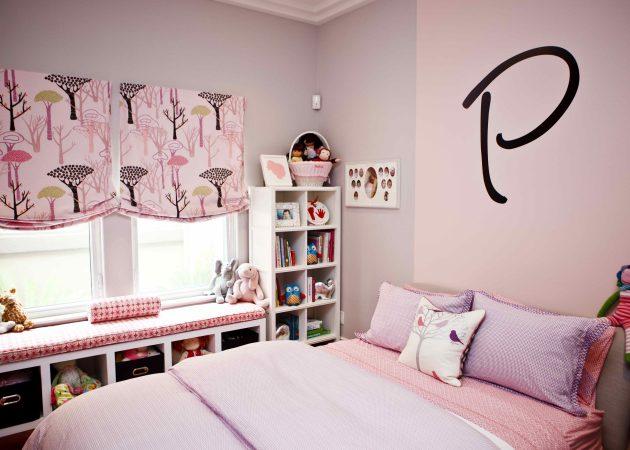 Дизайн детской: шторы
