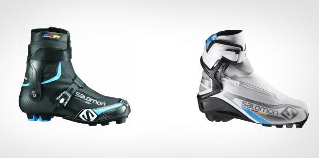 Как выбрать лыжи и ботинки для конькового хода