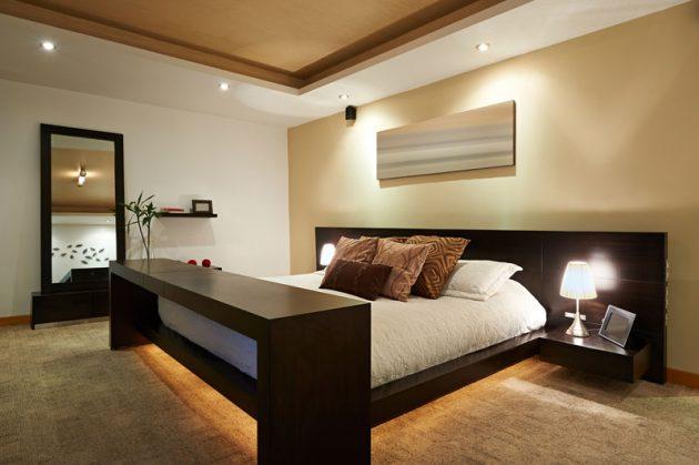 Дизайн маленькой спальни: чем больше света, тем лучше