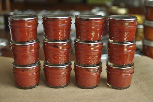 Острые соусы: острый томатный соус