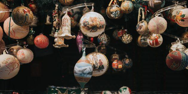 Что подарить любимому на Новый год: ёлочные украшения