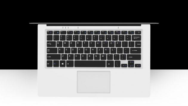 Chuwi LapBook 14.1: клавиатура и тачпад