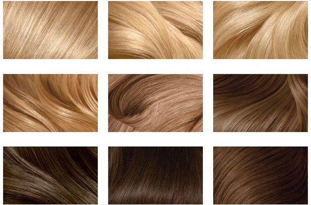 Как покрасить волосы: Палитра цветов волос