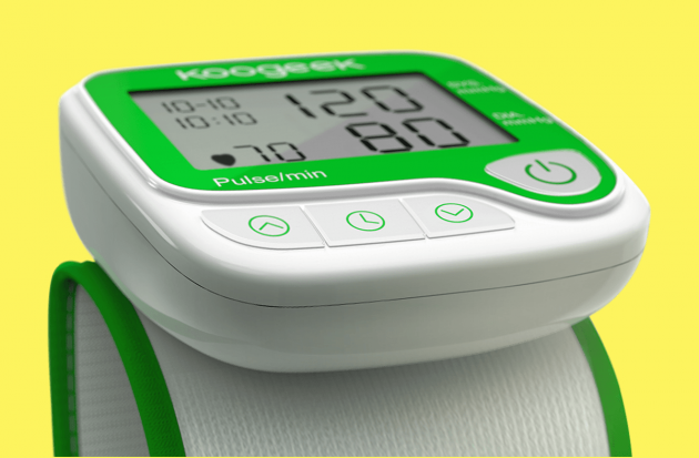 Koogeek Smart Wrist Blood Monitor: внешний вид