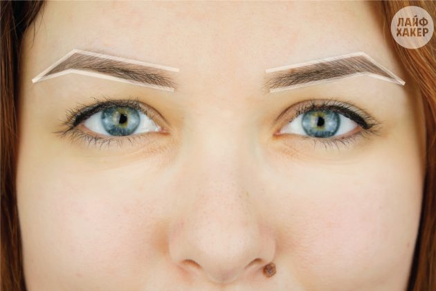 Коррекция бровей: Прорисуйте контуры брови