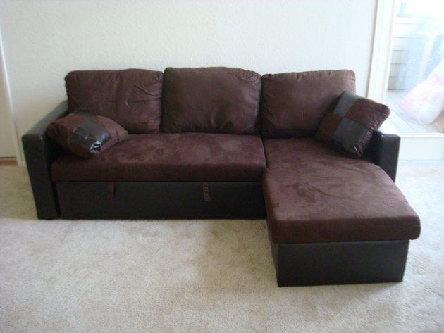 Как выбрать диван: Диван с оттоманкой