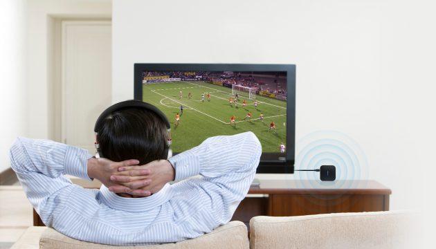 Dodocool DA88: сопряжение телевизора с наушниками