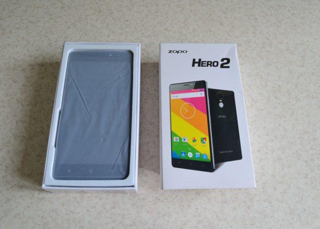 Zopo Hero 2 box