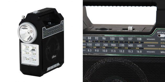 Что подарить на 23 Февраля папе: радио с фонариком