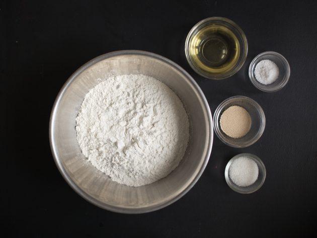 Индийские наан с творожной начинкой: ингредиенты