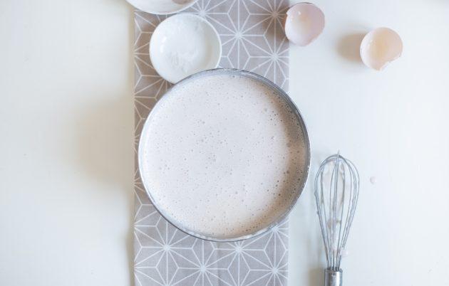 Протеиновая творожная запеканка с йогуртом: введите сухую смесь