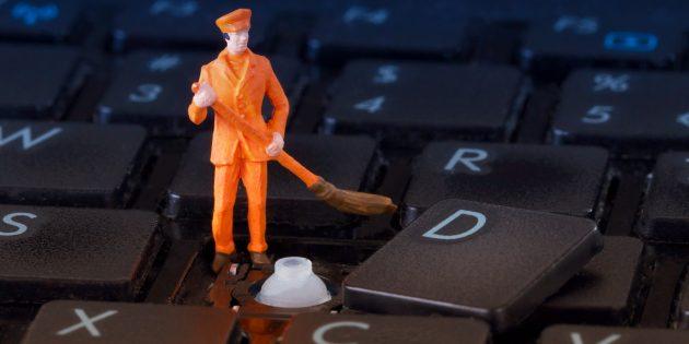 Как почистить клавиатуру снаружи и внутри