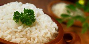 Как варить рис, чтобы он получился идеальным